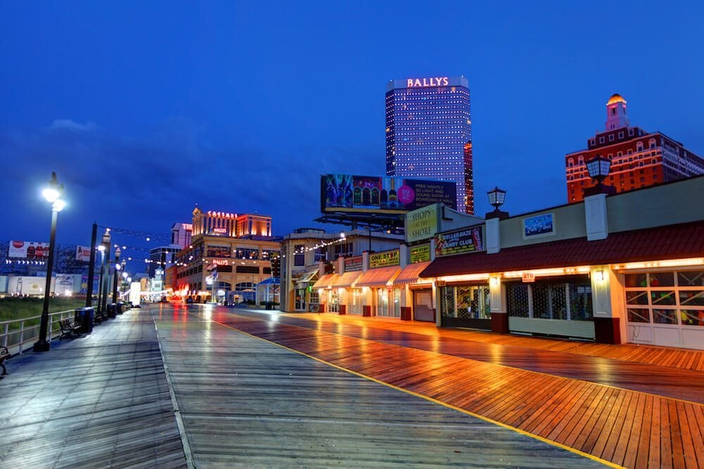 Atlantic City in Winter